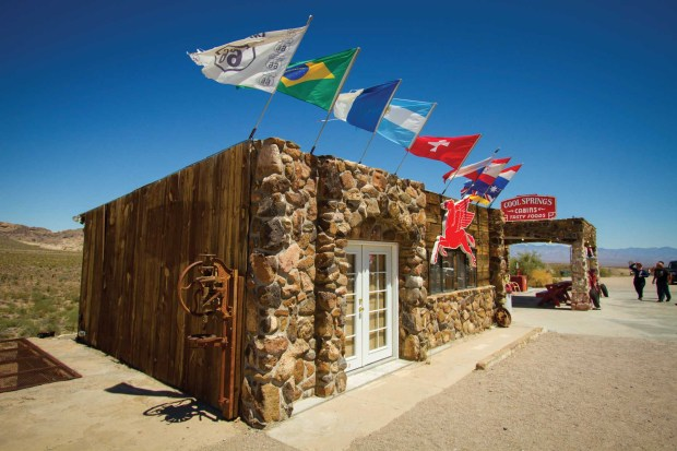 Die Route 66 an der Cool Springs Station. - Foto: Arizona Office of Tourism
