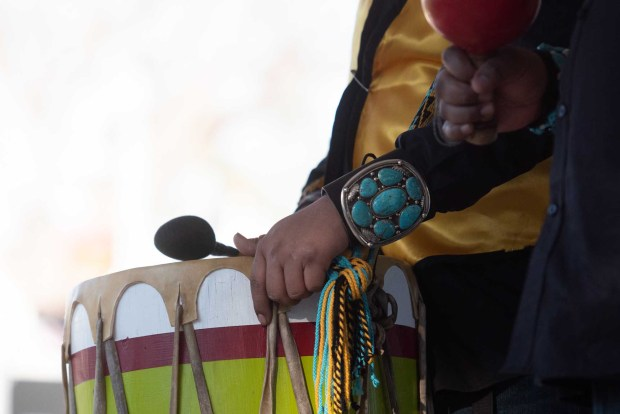 Trommler beim Arizona Indian Festival. - Foto: Christine Johnson