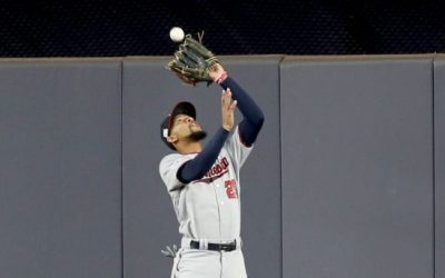 Byron Buxton wins the Wilson Defensive Player of the Year Award