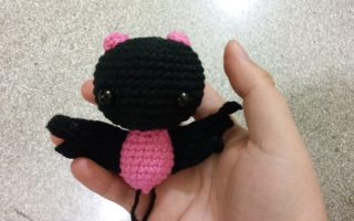 cute bat amigurumi crochet