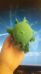 Crochet amigurumi Cthulhu