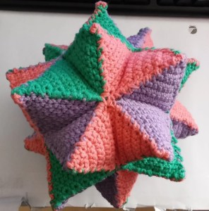 Crochet pattern Great stellated dodecahedron