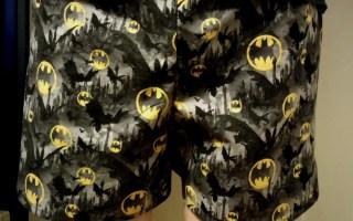 sewing a batman boxer