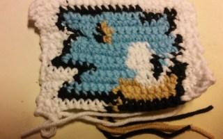 Sonic hedgehog crochet