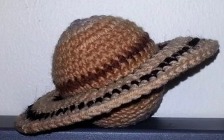 Saturn and rings crochet