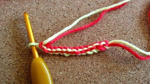 Tuto cord crochet