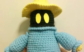 amigurumi black mage final fantasy crochet