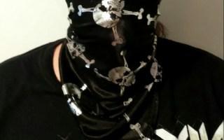 Tissu Pirate bandana couture sewing