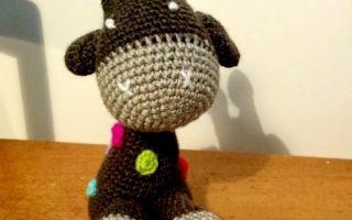 girafte crochet amigurumi kit aldi