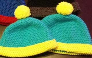 crochet bonnet eric cartman south park