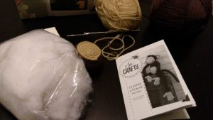 Aldi crochet kit monkey