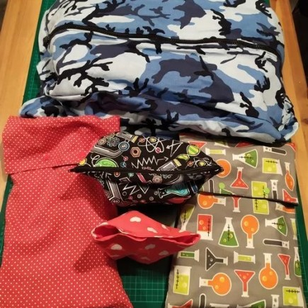 sewing gift bag