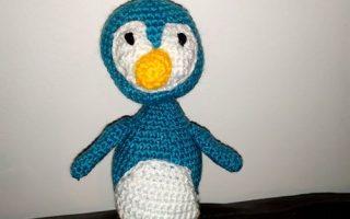 Penguin crochet kit Aldi