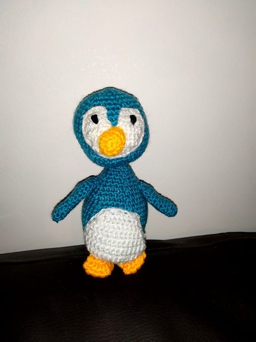 Penguin crochet kit Aldi