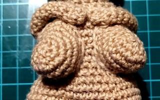 crochet venus of willendorf