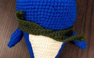 Nefertiti le narval crochet now amigurumi