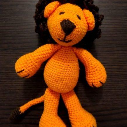 Crochet kit aldi lion amigurumi
