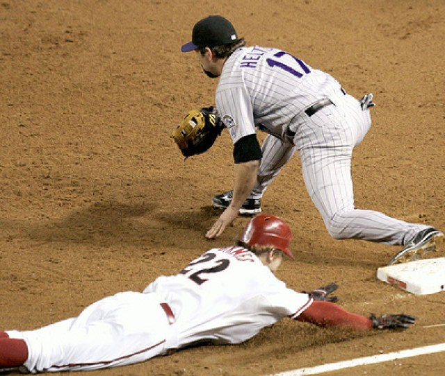 Major League Baseball Players Who Slide Headfirst Into First Base Are Setting A Bad Example For Todays Youth