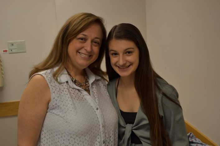 Christina Corturillo and her mom, Kathy.