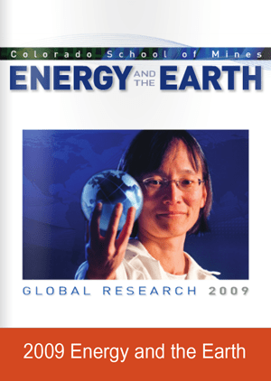 Energy and the Earth Research Magazine Cover 2009