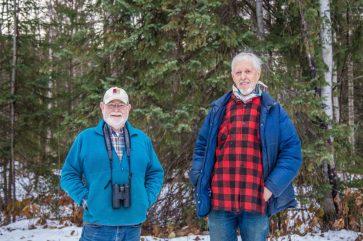 Tom Dickinson and Trevor Goward