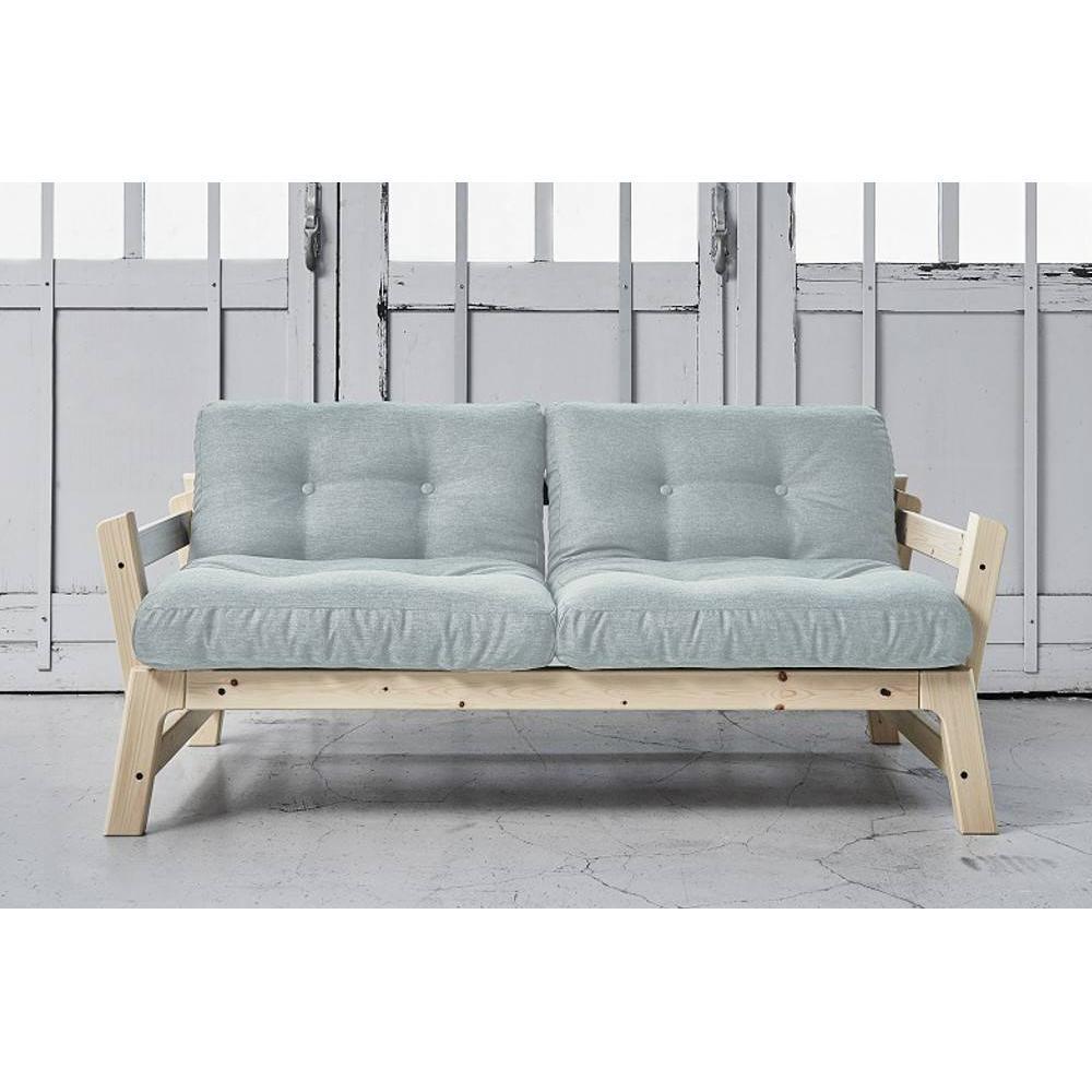 Canapé Convertible Bleu Ciel