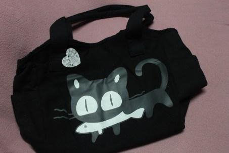 Casual black bag
