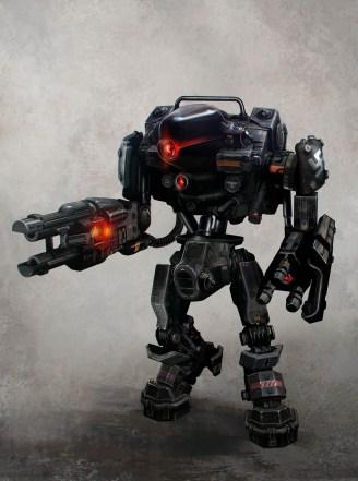 Concept Art Robot Enemy