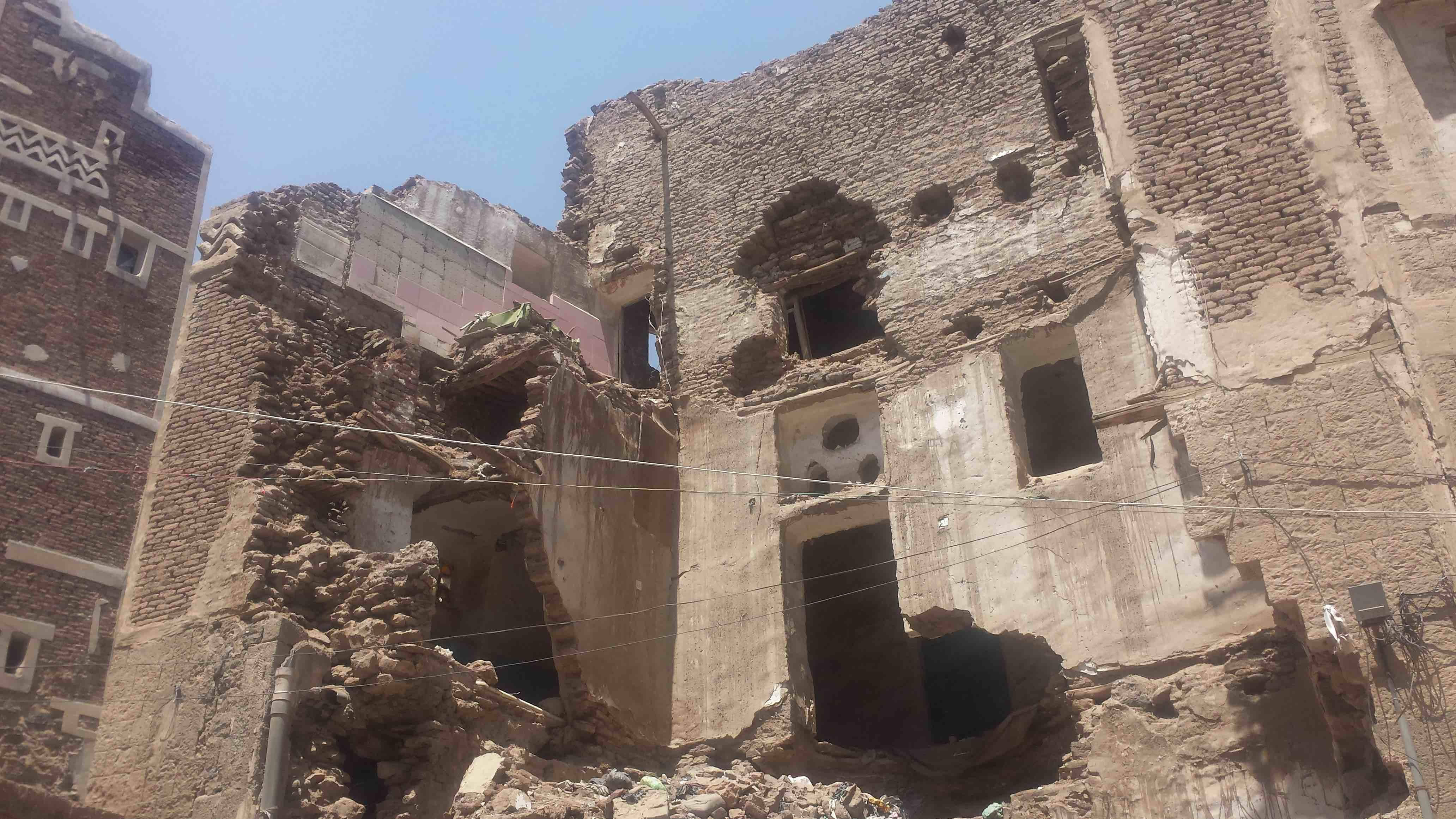 Yemeni Historical Sites Are Becoming Casualties of War.