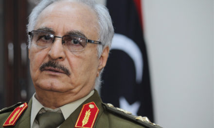Libyan Families Sue Haftar in U.S. for War Crimes
