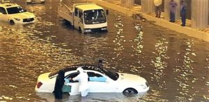 Flooding in Qatar
