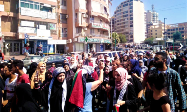 Protests Continue Across Lebanon As Palestinian Refugees are Denied Workers' Rights