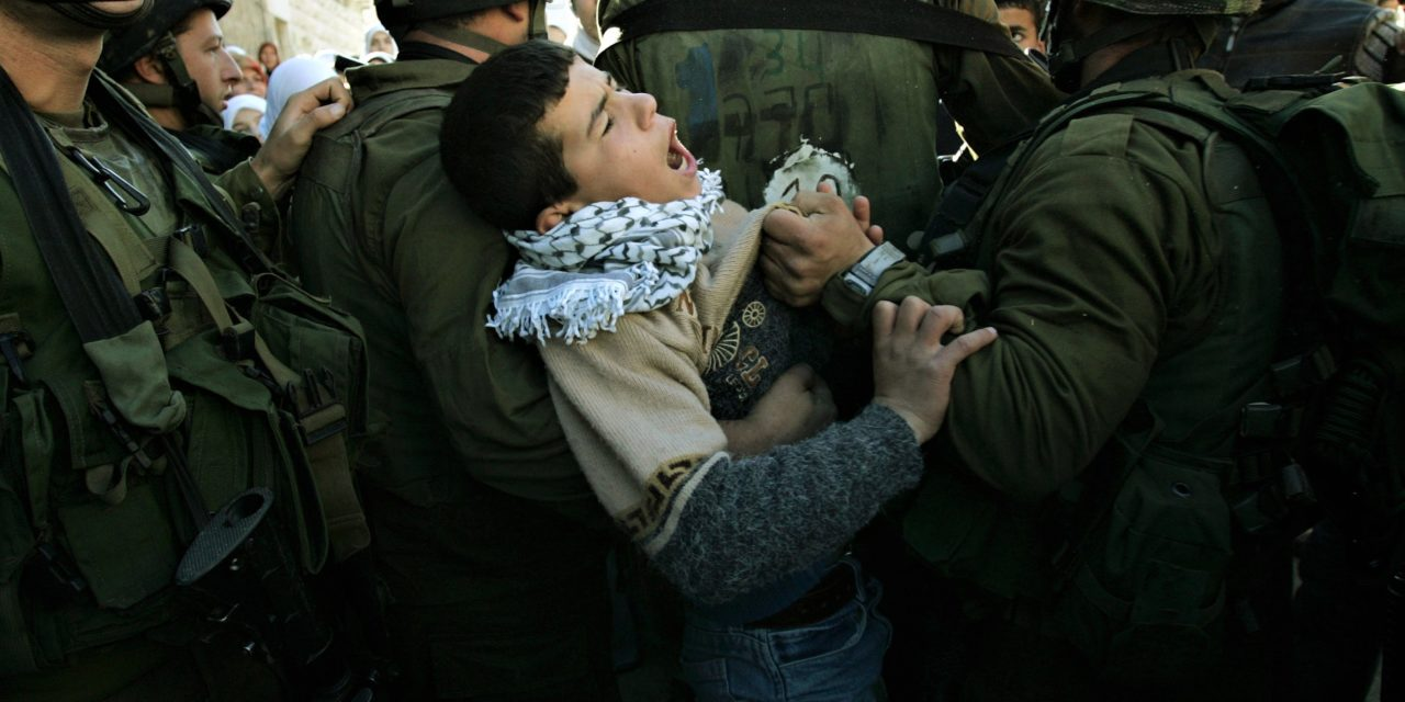 When Will the World Look at the Plight of Palestinian Children?