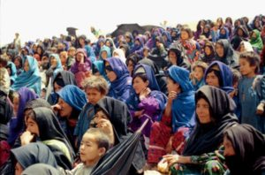 A gathering of the persecuted Hazara Shiite community who comprise about a quarter of the population of Afghanistan Photo UN Dispatch