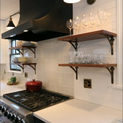 Open Metal Shelving Kitchen Personalized Signs A Backsplash With Personality Inside Arciform