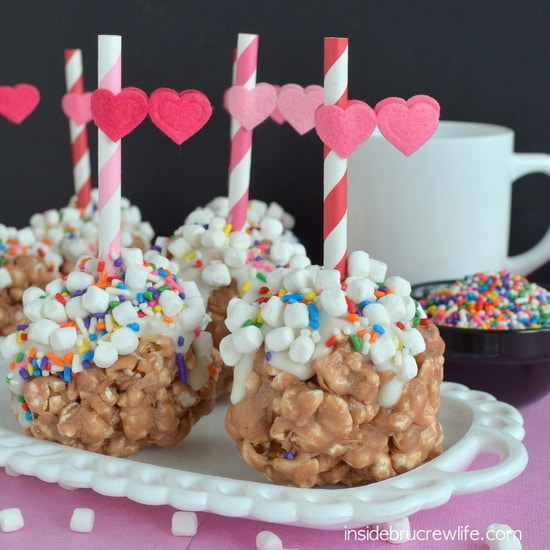 Hot Chocolate Popcorn Balls