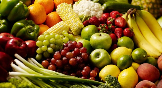 Raw Fruit, Vegetables Boost Mental Health