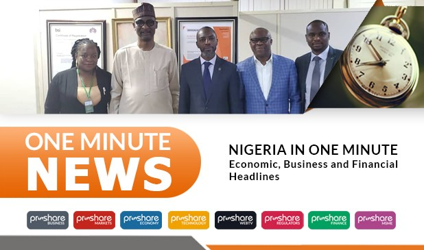 Nigeria in 1min: Economic, Business and Financial Headlines – 141119