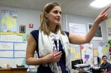teacher of the year rosie reid teaching at northgate high school