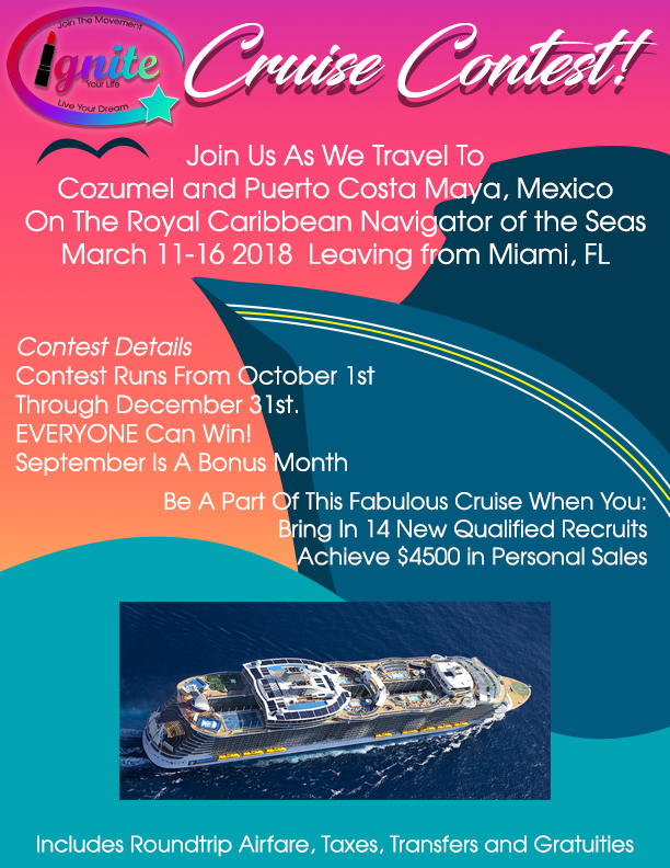 Cruise Contest Flyer