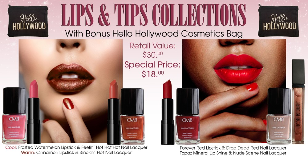 Lips and tips 5.19