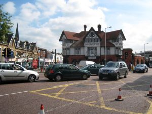 The historic Swan and Sugarloaf in South Croydon, pictured before it was taken over by Tesco