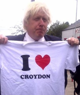 Well not that much: Boris Johnson has ruled out running for parliament in Croydon