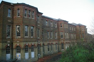 The old Cane Hill Hospital: slightly spooky in its derelict state