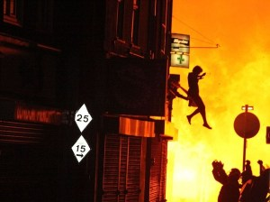 The symbol of Croydon 2011: But more than two years on, many victims of the riots have yet to receive compensation