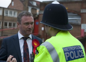 "Steve Reed MP: ""shocking"" rise in street crime"