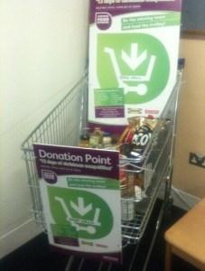 This what Croydon's councillors donated for food banks over Christmas