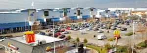 Valley Park: was once proposed as a new, out-of-town retail centre, to rival Bluewater