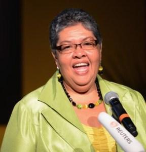 Croydon guest: High Commissioner for Jamaica, Aloun Ndombet-Assamba