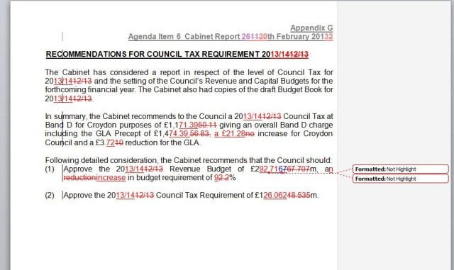 council tax error